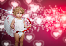 Baby cupid Stock Images