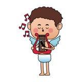 Baby cupid cartoon icon Stock Photos
