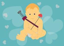 Baby cupid Stock Photos