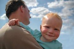 baby curious Fotografering för Bildbyråer