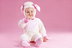 Baby in custume Stock Foto