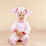 Baby in custume Royalty Free Stock Photos