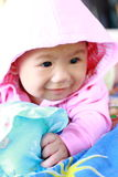 Baby Cute Baby Girl Portrait Stock Photo