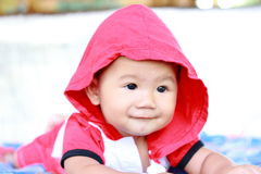 Baby Cute Baby Girl Portrait Royalty Free Stock Image