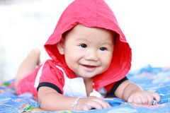 Baby Cute Baby Girl Portrait Royalty Free Stock Photo