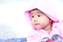 Baby Cute Baby Girl Portrait stock photography