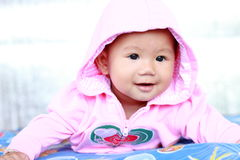 Baby Cute Baby Girl Portrait Stock Photos