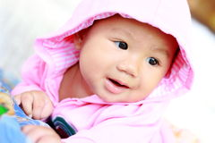 Baby Cute Baby Girl Portrait Stock Images