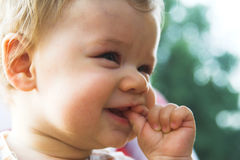 Baby - cute child. Baby child. Cute little baby Royalty Free Stock Photo