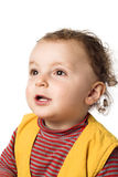 Baby, das oben schaut Lizenzfreies Stockbild