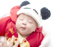 Baby daytime dreaming Royalty Free Stock Photo