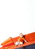 Baby in de hoek Stock Afbeelding