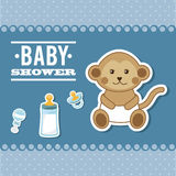 Baby design. Baby graphic design , vector illustration Royalty Free Stock Photo