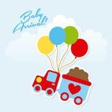 Baby design Royalty Free Stock Image
