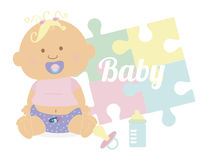 Baby design Royalty Free Stock Photography