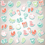 Baby design Stock Photography