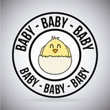 Baby design Royalty Free Stock Images