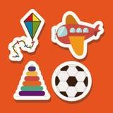 Baby design. Over orange  background vector illustration Stock Image