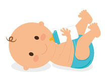 Baby design, vector illustration. Stock Images