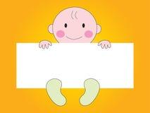 Baby die teken toont vector illustratie