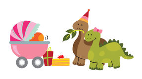 Baby Dinosaur. Vector illustration of Baby Dinosaur Royalty Free Illustration