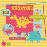 Baby Dinosaur Set Royalty Free Stock Photos