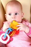 Baby discovery Stock Images