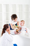 Baby doctor Stock Photos