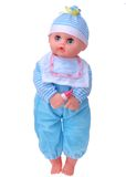Baby doll boy Stock Photo