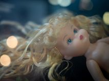 Baby doll stock image