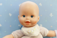 Baby doll portrait Stock Images