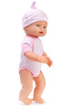 Baby doll on white Stock Image