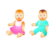 Baby dolls Stock Image