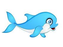 Baby Dolphin Vector Illustration Stock Photo