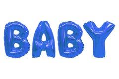 Baby donkerblauwe kleur royalty-vrije stock fotografie