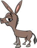 Baby donkey cartoon illustration Stock Photo