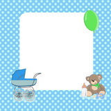 Baby dots background Stock Image