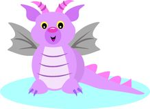 Baby Dragon Stock Image