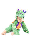 Baby Dragon Costume Stock Photo