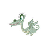 Baby Dragon Stock Photo