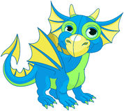 Baby Dragon Royalty Free Stock Photography