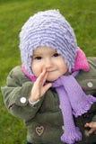 Baby draußen Stockbilder