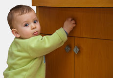 Baby drawer Royalty Free Stock Photos
