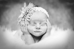 Baby dreaming Stock Photos