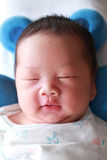Baby Dreaming Stock Photo