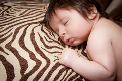 Baby in Dreamland Stock Photo