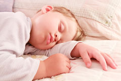 Baby dreams Royalty Free Stock Image