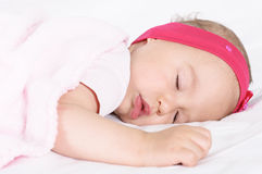 Baby dreams Royalty Free Stock Photography