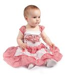 Baby in dress Royalty Free Stock Images