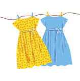 Baby dress Royalty Free Stock Images